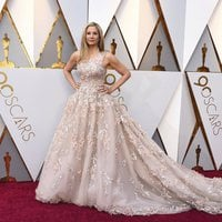 Mira Sorvino at the red carpet of the Oscars 2018