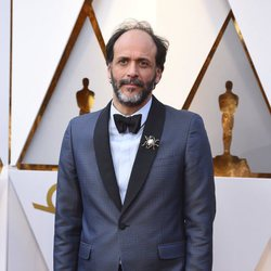 Luca Guadagnino at the Oscars 2018 red carpet