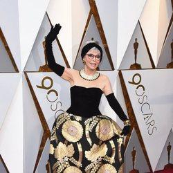 Rita Moreno at the red carpet of the Oscars 2018