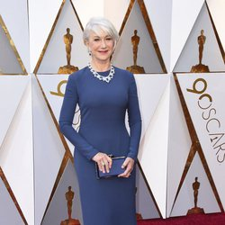 Helen Mirren at the Oscars 2018 red carpet