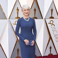 Helen Mirren at the Oscars 2018 red carpet
