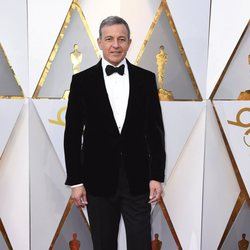 Bob Iger at the Oscars 2018 red carpet