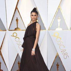 Zendaya at the Oscars 2018 red carpet