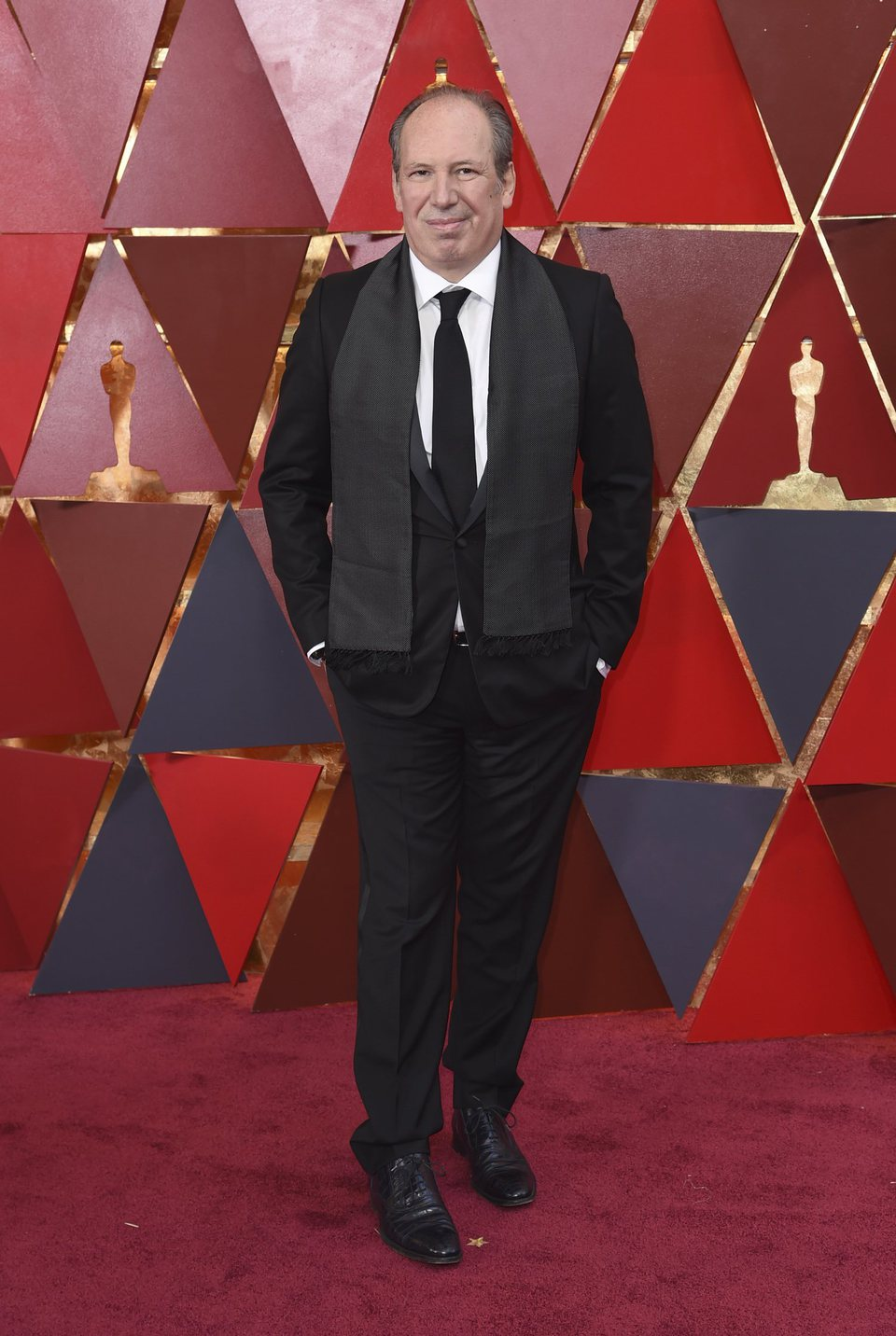 Hans Zimmer at the Oscars 2018 red carpet