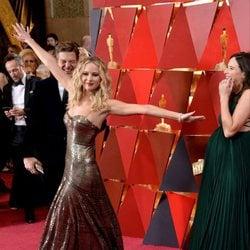 Jennifer Lawrence at the Oscar 2018 red carpet
