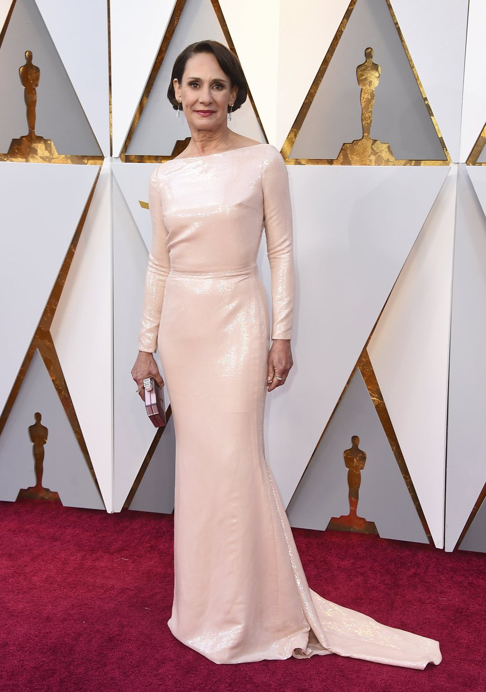Laurie Metcalf at the Oscars 2018 red carpet