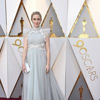 Emily Blunt at the Oscar 2018 red carpet
