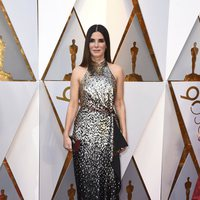 Sandra Bullock at the Oscar 2018 red carpet
