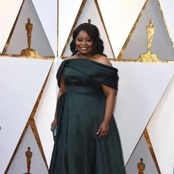 Octavia Spencer at the Oscar 2018 red carpet
