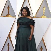Octavia Spencer at the Oscar 2018 red carpet