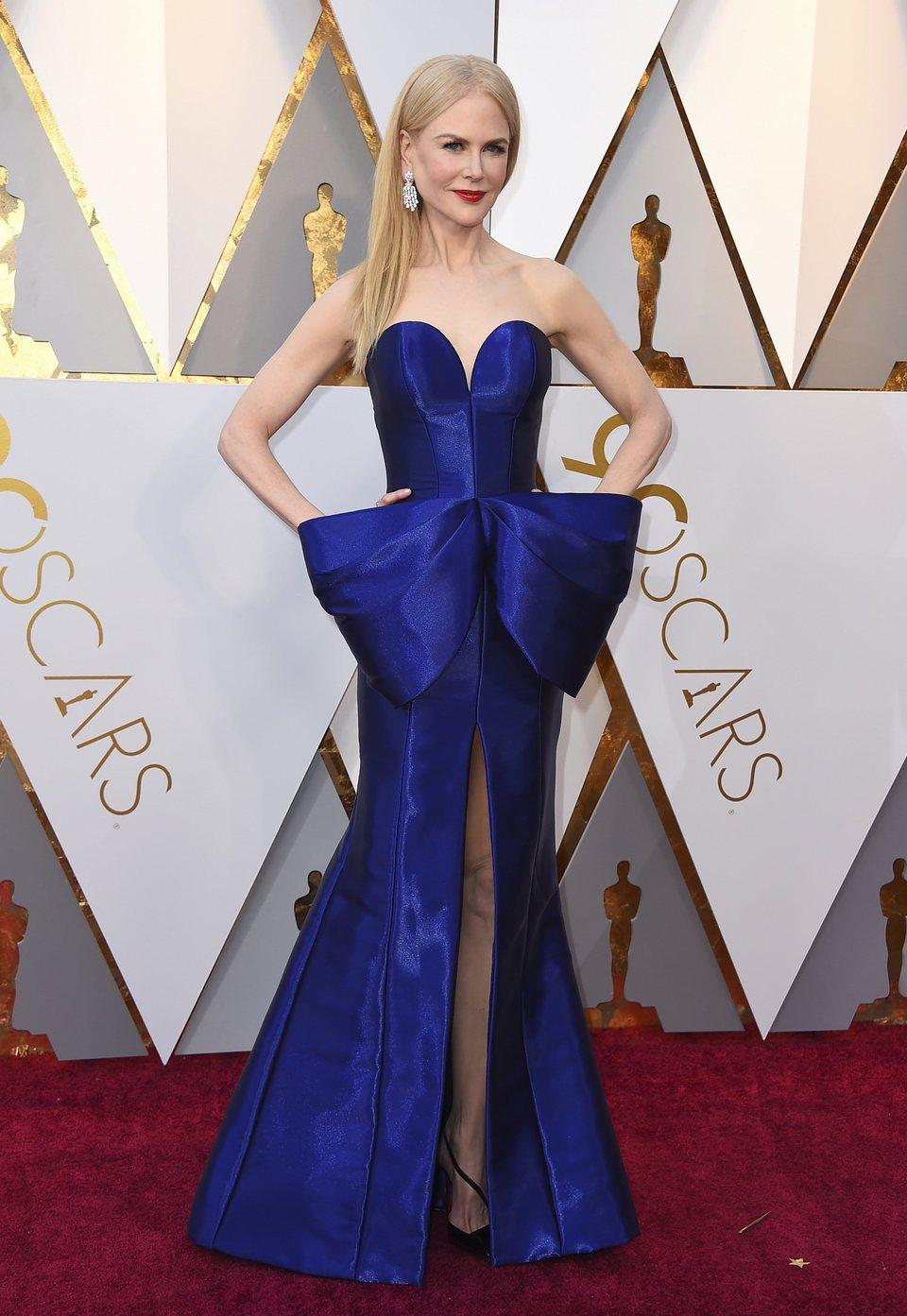 Nicole Kidman at the Oscar 2018 red carpet