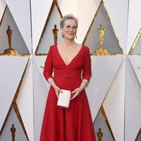 Meryl Streep at the Oscar 2018 red carpet