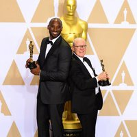 Kobe Bryant and Glen Keane, Oscar winners for Best Animated Short
