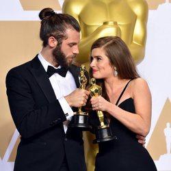 Chris Overton and Rachel Shenton, Oscar winners for Best Live Action Short Film