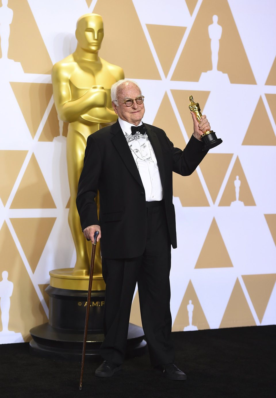 James Ivory, Oscar winner for Best Adapted Script for 'Call Me By Your Name'