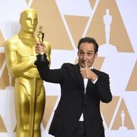 Alexandre Desplat, winner of the best original score Oscar for 'The Shape of Water'