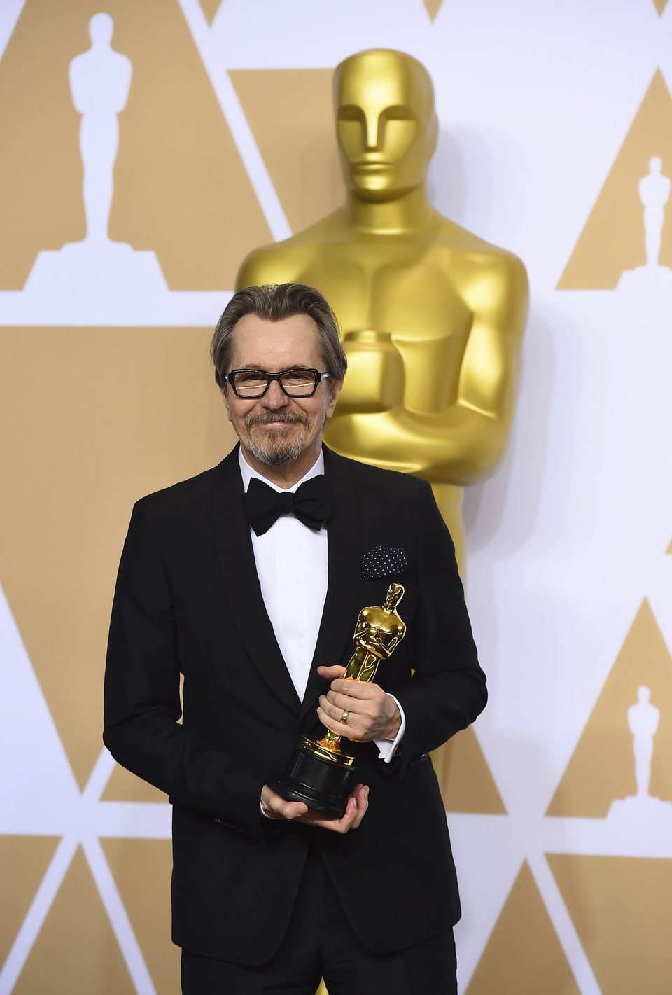 Gary Oldman, Oscar winner for Best Actor in a Leading Role for 'Darkest Hour'
