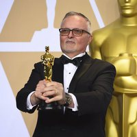 Lee Smith, winner of the best film editing Oscar for 'Dunkirk'