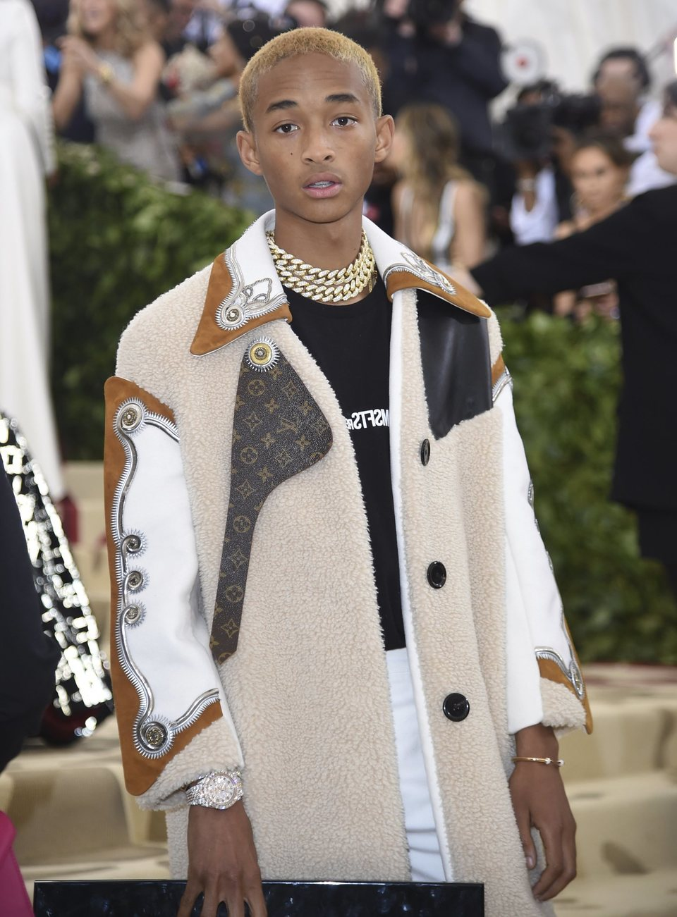 Jaden Smith at the Met Gala 2018
