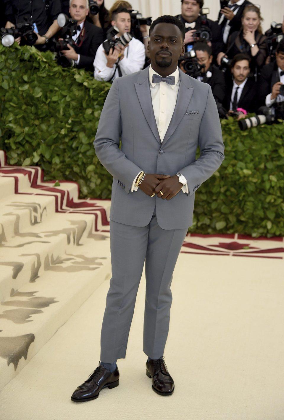 Daniel Kaluuya at the Met Gala 2018