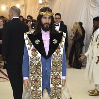 Jared Leto at the Met Gala 2018