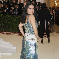 Salma Hayek at the Met Gala 2018
