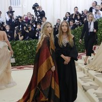 Olsen twins at the Met Gala 2018