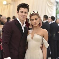 Shawn Mendes and Hailey Baldwin at the Met Gala 2018