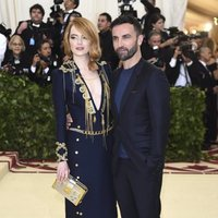 Emma Stone at the Met Gala 2018