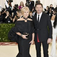 Hugh Jackman and his wife Deborra-Lee Furness at the Met Gala 2018