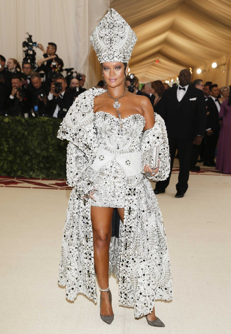 Rihanna at the Met Gala 2018