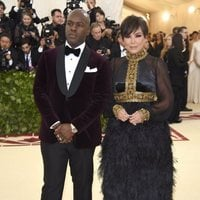Kris Jenner and Corey Gamble at the Met Gala 2018