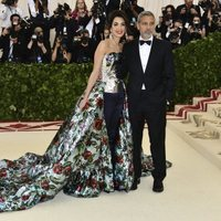 George Clooney and Amal Clooney at the Met Gala 2018