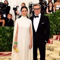 Colin Firth and Livia Giuggioli at the Met Gala 2018