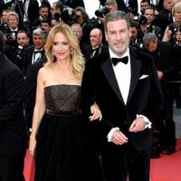 Kelly Preston and John Travolta attend the premiere of 'Solo: A Star Wars Story' during the 71st Cannes Film Festival