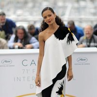 Thandie Newton attends the premiere of 'Solo: A Star Wars Story' during the 71st Cannes Film Festival