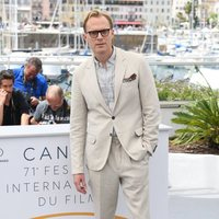 Paul Bettany attends the premiere of 'Solo: A Star Wars Story' during the 71st Cannes Film Festival