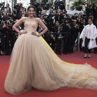 Sonam Kapoor attends the premiere of 'Solo: A Star Wars Story' during the 71st Cannes Film Festival
