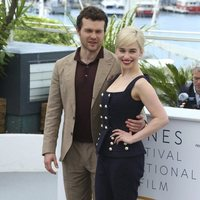 Emilia Clarke and Alden Ehrenreich attend the premiere of 'Solo: A Star Wars Story' during the 71st Cannes Film Festival