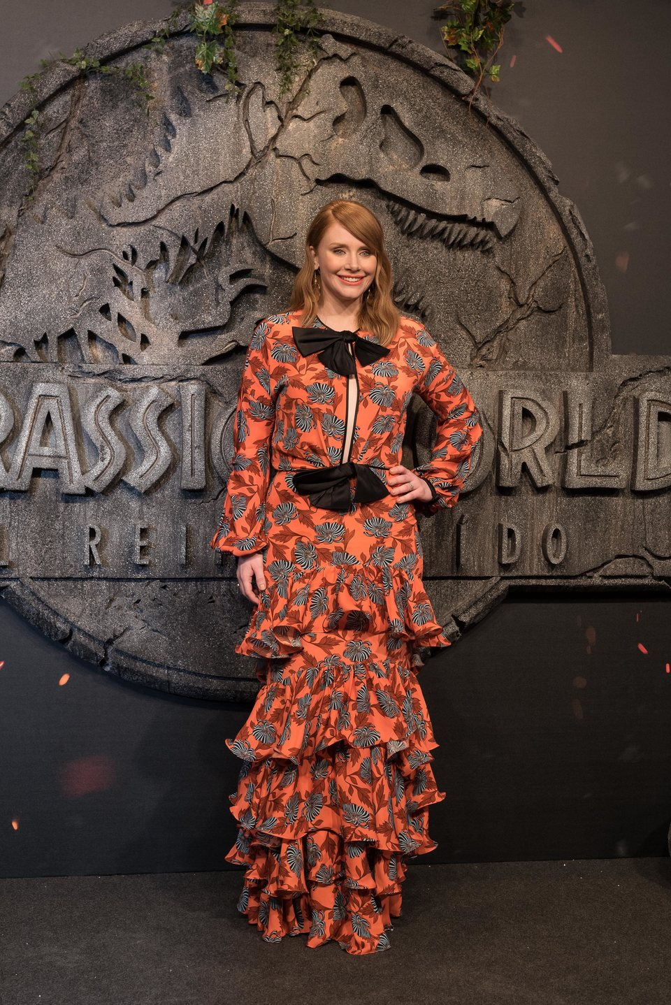 Bryce Dallas-howard at the 'Jurassic World: Fallen kingdom' world premiere in Madrid