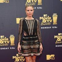Kristen Bell at the MTV Movie & TV Awards 2018 red carpet