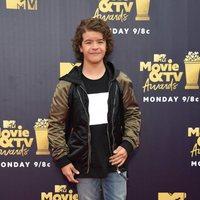 Gaten Matarazzo at the MTV Movie & TV Awards 2018 red carpet