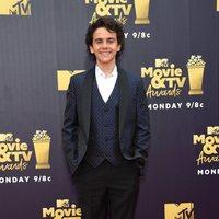 Jack Dylan Grazer at the MTV Movie & TV Awards 2018 red carpet