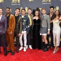 The '13 Reasons Why' actors at the MTV Movie & TV Awards 2018 red carpet