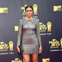 Mandy Moore at the MTV Movie & TV Awards 2018 red carpet