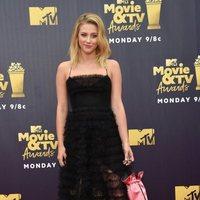 Lili Reinhart at the MTV Movie & TV Awards 2018 red carpet