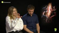 Elizabeth Olsen, Jeremy Renner and Emily VanCamp about 'Civil War'