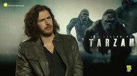 """Hozier ('The legend of Tarzan'): """"There´s a fantastic honesty in the natural side of Tarzan"""""""