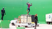 Tom Holland's Spider-Man behind the scenes from 'Captain America: Civil War'