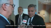 George Clooney finds out Brad Pitt and Angelina Jolie are divorcing